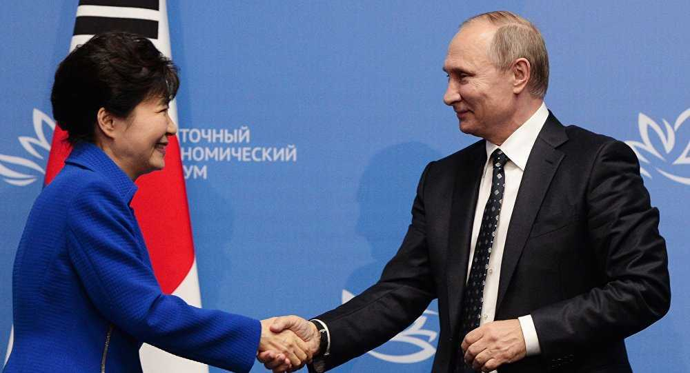 Mon qua vo gia ong Putin gui tang Tong thong Han Quoc hinh anh 1