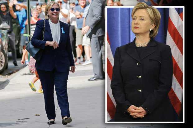 Ro nghi van ba Clinton dang dung nguoi dong the vi ly do suc khoe hinh anh 1