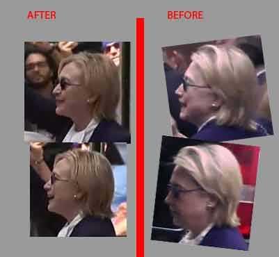 Ro nghi van ba Clinton dang dung nguoi dong the vi ly do suc khoe hinh anh 3