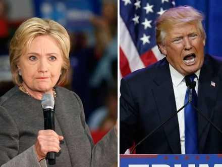 Nguoi My se xem Donald Trump va Hillary Clinton 'dau khau' tren Facebook hinh anh 1