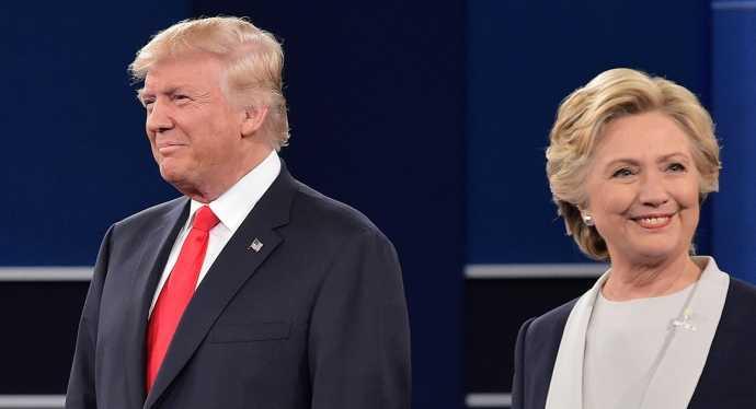 Tranh luan Bau cu Tong thong My lan cuoi: Trump va Clinton se dung con bai gi? hinh anh 1