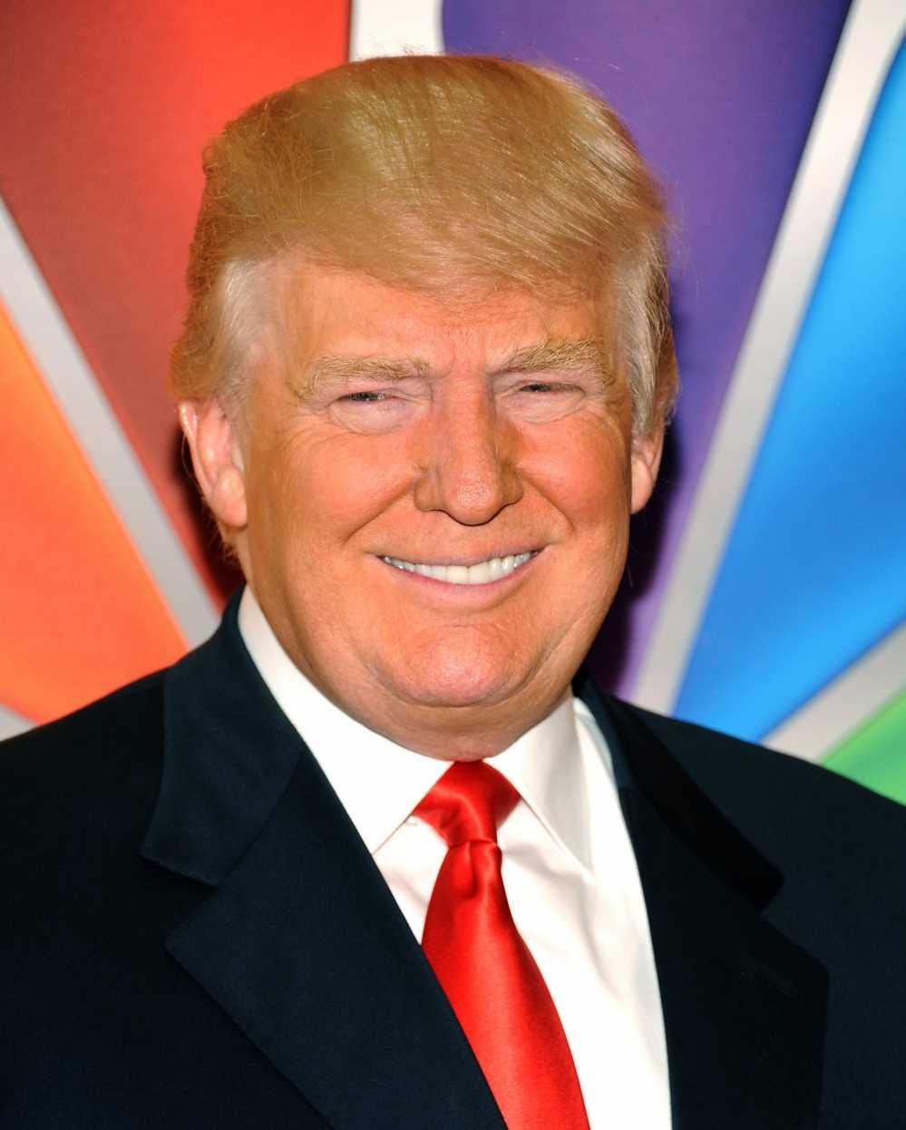Vi sao da cua Donald Trump lai co mau cam? hinh anh 1