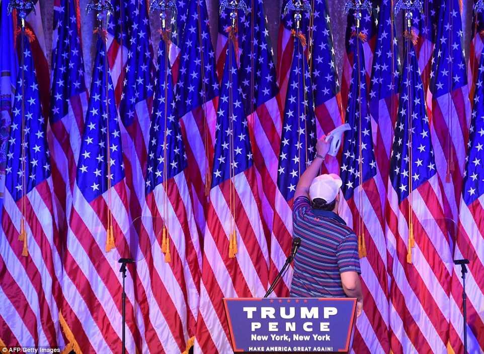 Can canh noi an mung chien thang cua Donald Trump hinh anh 5