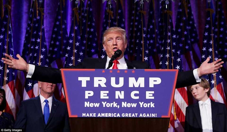 Donald Trump phat bieu gi sau khi duoc bau lam Tong thong? hinh anh 1