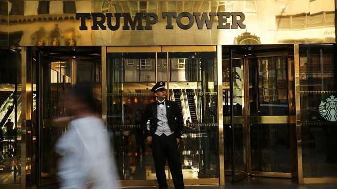 Bao ve toa thap Trump la thach thuc chua tung co voi canh sat New York hinh anh 1