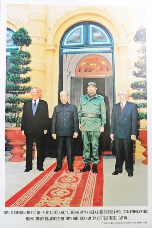 Hinh anh 3 lan toi tham Viet Nam cua nha lanh dao Cuba Fidel Castro hinh anh 9