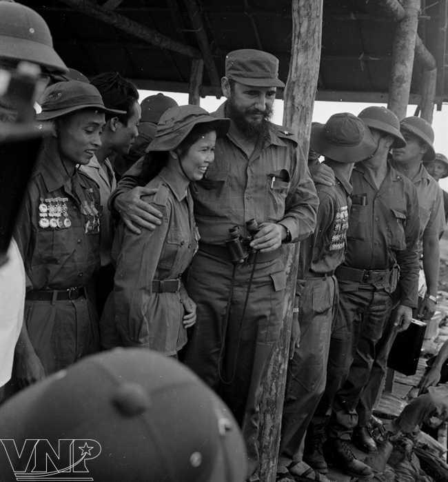 Hinh anh 3 lan toi tham Viet Nam cua nha lanh dao Cuba Fidel Castro hinh anh 4