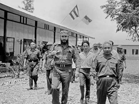 Hinh anh 3 lan toi tham Viet Nam cua nha lanh dao Cuba Fidel Castro hinh anh 1