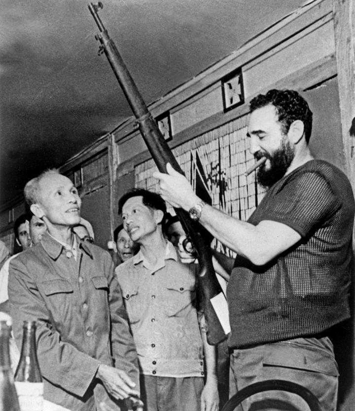 Hinh anh 3 lan toi tham Viet Nam cua nha lanh dao Cuba Fidel Castro hinh anh 7