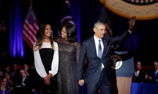 Con gai ut nha Obama o dau khi cha phat bieu chia tay Nha trang? hinh anh 1