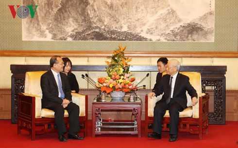 Tong Bi thu: Viet Nam het suc coi trong hop tac kinh te voi Trung Quoc hinh anh 2