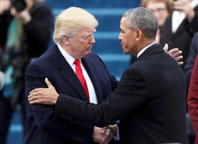 Ong Trump ky 4 sac lenh pha bo di san cua Obama trong 4 ngay hinh anh 1