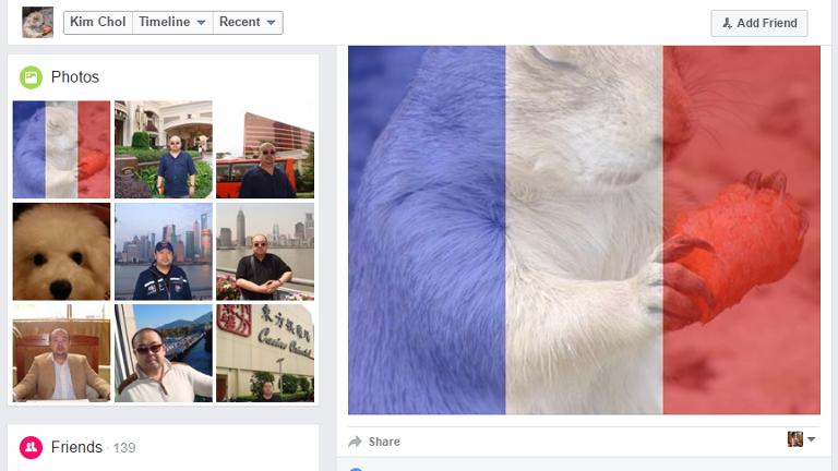 Facebook nghi cua ong Kim Jong-nam chia se gi? hinh anh 1