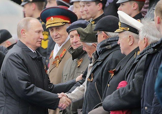 Video, anh: Dan vu khi uy luc cua Nga trong duyet binh Ngay Chien thang hinh anh 10