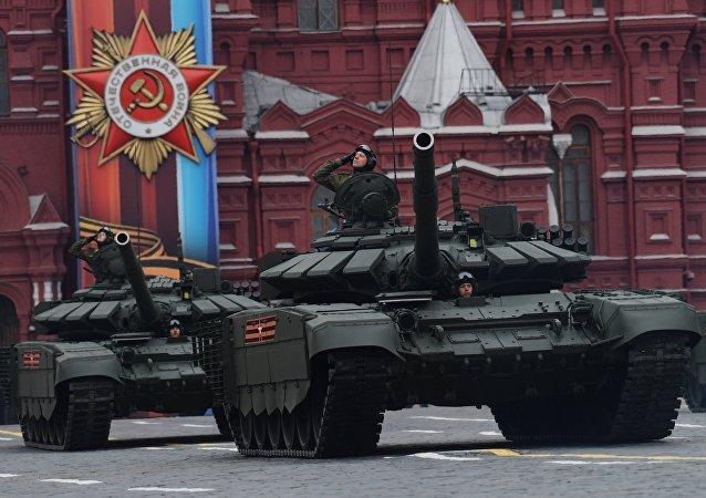 Video, anh: Dan vu khi uy luc cua Nga trong duyet binh Ngay Chien thang hinh anh 4