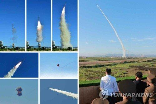 Lanh dao Kim Jong-un ra lenh san xuat hang loat vu khi phong khong moi cuc ky dang so hinh anh 1