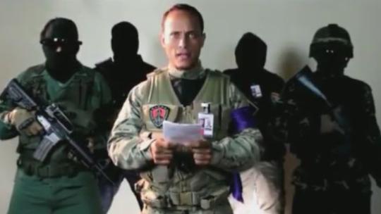 Video: Dac vu tinh bao lai truc thang, nem luu dan xuong toa an toi cao Venezuela hinh anh 1