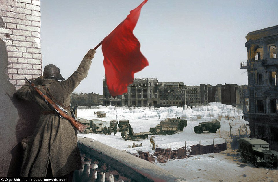 Loat anh mau cuc hiem ve tran danh khoc liet nhat The chien II o Stalingrad hinh anh 7