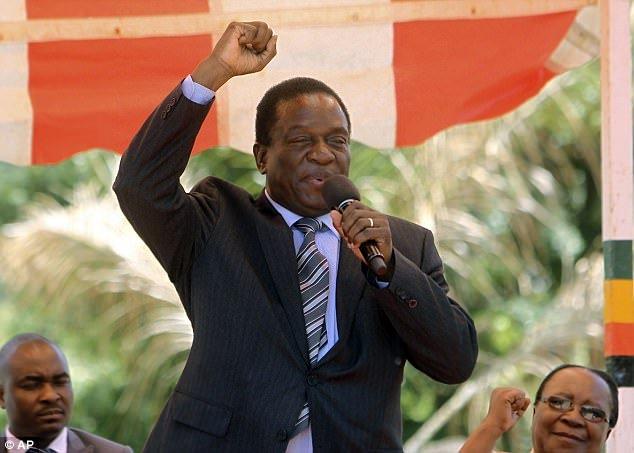 Nhan vat thay the ong Mugabe lam Tong thong Zimbabwe la ai? hinh anh 1