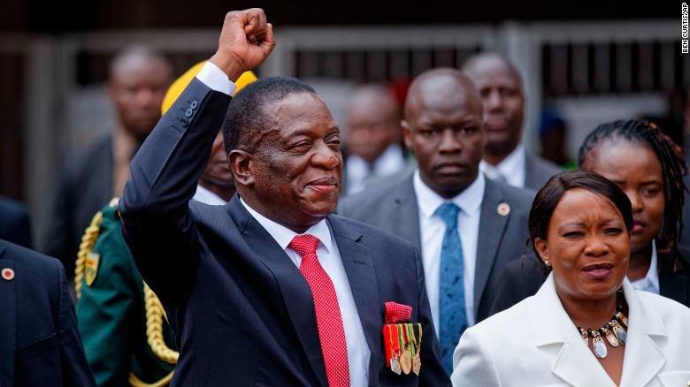Tan Tong thong Zimbabwe tuyen the nham chuc hinh anh 1
