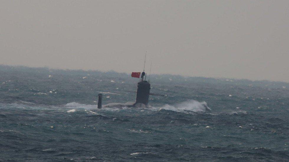 Quá ồn ào, tàu ngầm Trung Quốc bị lộ khi làm nhiệm vụ mật
