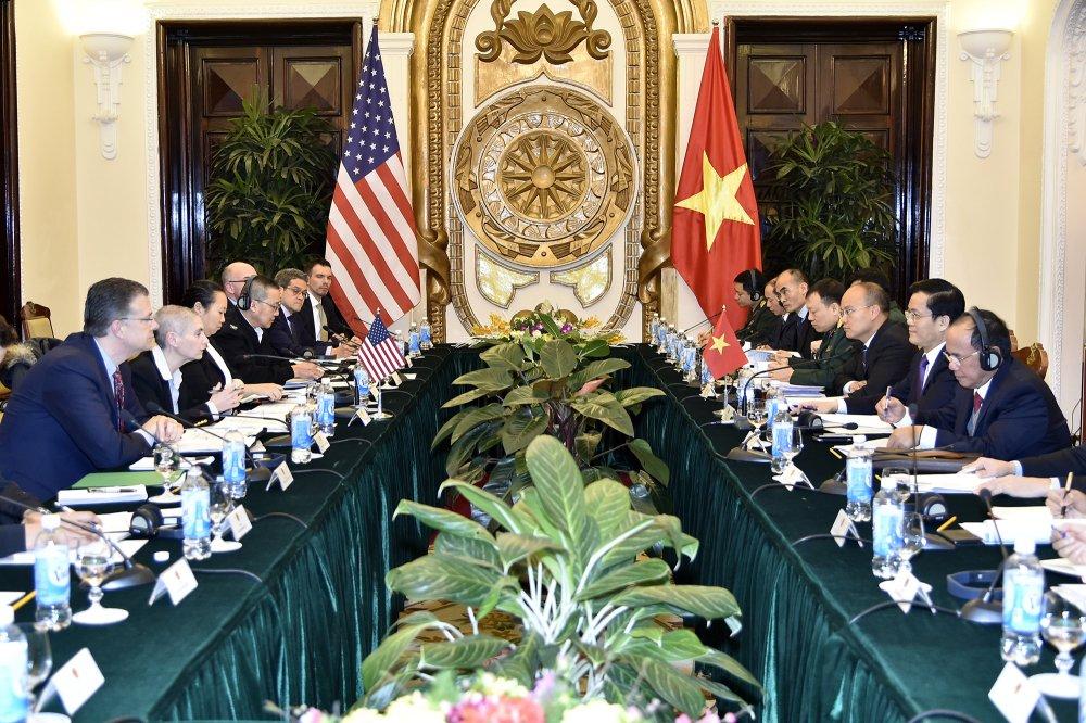 Doi thoai chinh tri, an ninh, quoc phong Viet - My lan thu 9 hinh anh 1