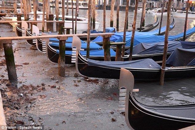 Anh: Hang loat kenh dao o Venice can tro day sau sieu trang hinh anh 3