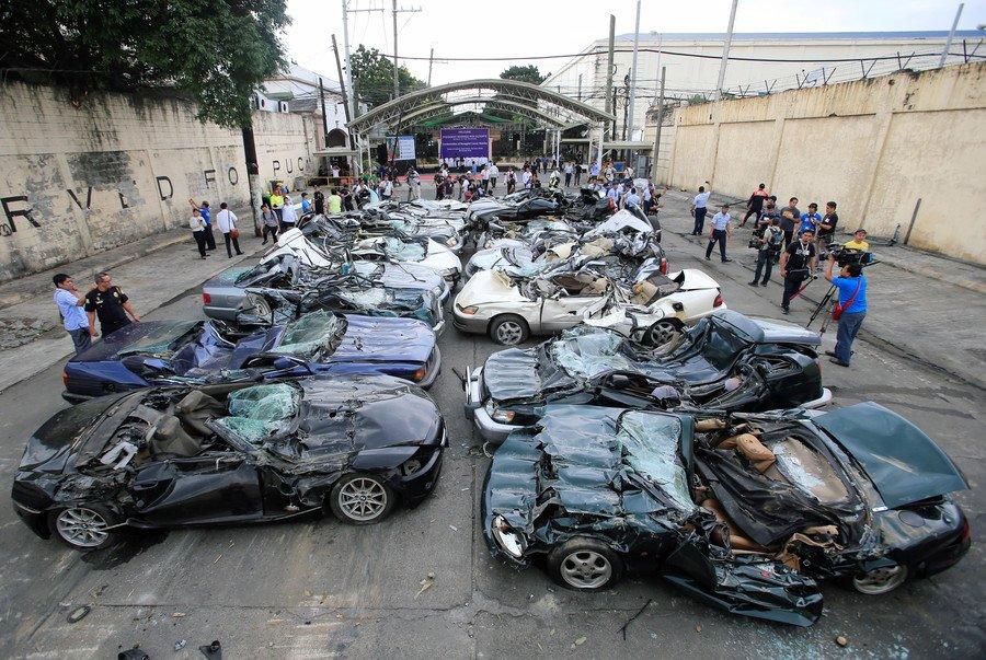 Video: Philippines nghien nat hang chuc sieu xe dat do tri gia gan 30 ty dong hinh anh 1