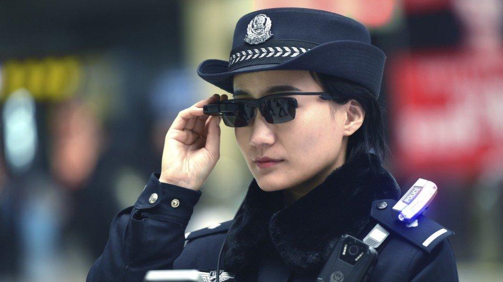Canh sat Trung Quoc duoc trang bi 'kinh chieu yeu' nhan dien toi pham hinh anh 1