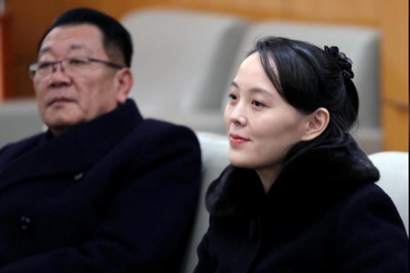 Video, anh: Nhan sac rang ngoi cua em gai ong Kim Jong-un o Han Quoc hinh anh 2