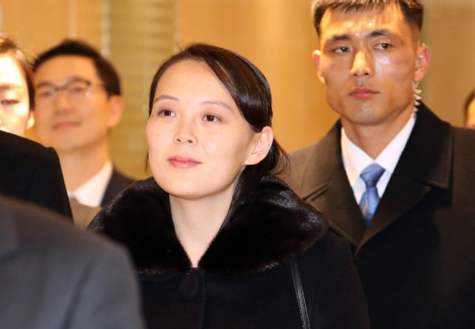 Video, anh: Nhan sac rang ngoi cua em gai ong Kim Jong-un o Han Quoc hinh anh 5