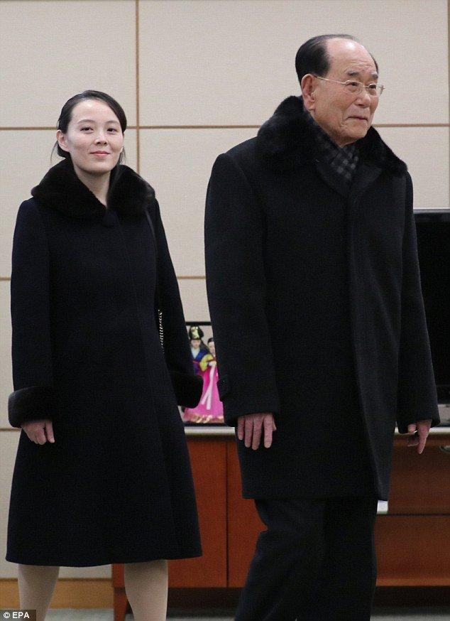 Video, anh: Nhan sac rang ngoi cua em gai ong Kim Jong-un o Han Quoc hinh anh 7