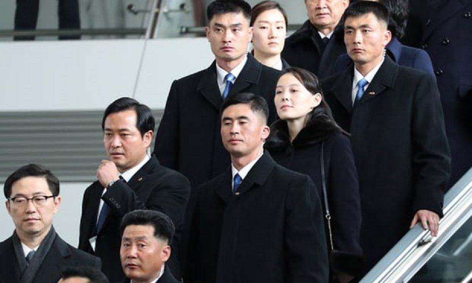 Video, anh: Nhan sac rang ngoi cua em gai ong Kim Jong-un o Han Quoc hinh anh 1