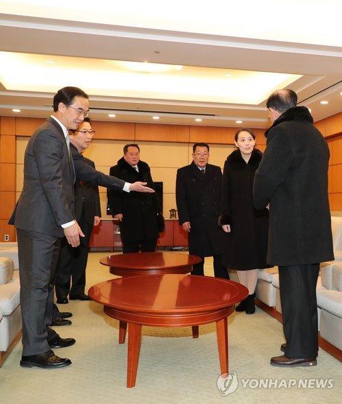 Video, anh: Nhan sac rang ngoi cua em gai ong Kim Jong-un o Han Quoc hinh anh 3