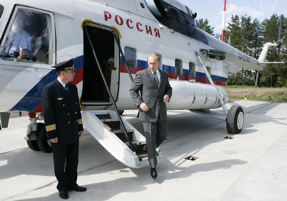 Truc thang bi ban, Tong thong Putin tuong phao hoa hinh anh 1