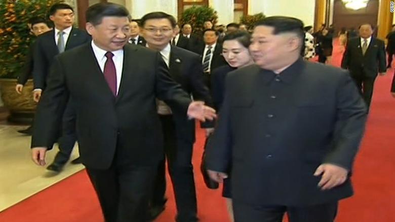 Den Bac Kinh, ong Kim Jong-un cam ket phi hat nhan hoa ban dao Trieu Tien hinh anh 1