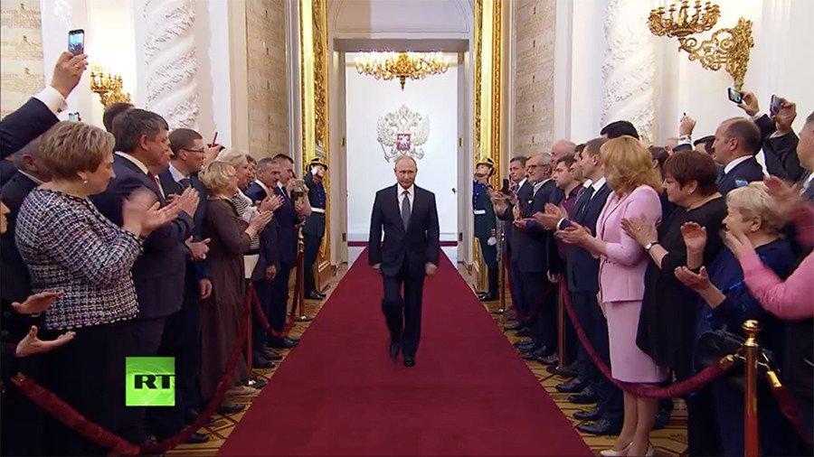 Diem khac biet trong le nham chuc lan thu 4 cua Tong thong Putin so voi nhung lan truoc hinh anh 1