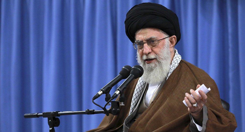 Lanh tu toi cao Iran: Bai phat bieu cua ong Trump ve thoa thuan hat nhan Iran la doi tra va hoi hot hinh anh 1