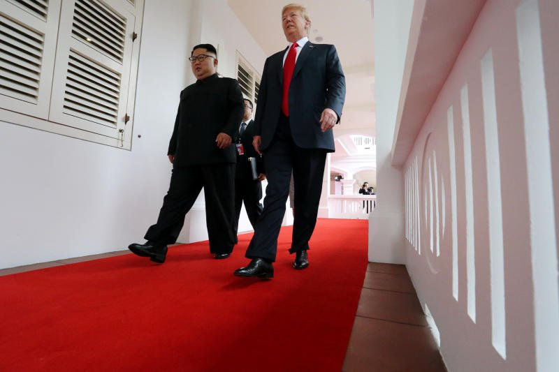 Ong Kim Jong-un: 'Hoi nghi nay dien ra nhu trong mot bo phim khoa hoc vien tuong' hinh anh 1