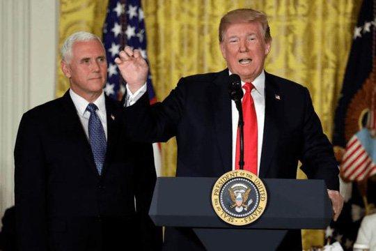 Ong Trump ky sac lenh thanh lap Quan chung vu tru, muon nuoc My thong tri khong gian hinh anh 1