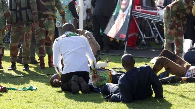 No bom am sat Tong thong Zimbabwe, nhieu quan chuc cap cao bi thuong hinh anh 1