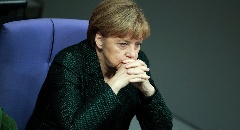 Thu tuong Merkel 'ngam ngui' chia se ly do ba khong the sang Nga co vu doi tuyen Duc hinh anh 1