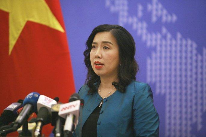 Trung Quoc vi pham chu quyen Viet Nam o Hoang Sa: Dai dien Bo Ngoai giao Viet Nam gap dai dien DSQ Trung Quoc hinh anh 1