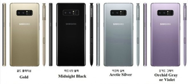 iPhone X va Samsung Galaxy Note 8: San pham nao dang mua? hinh anh 4