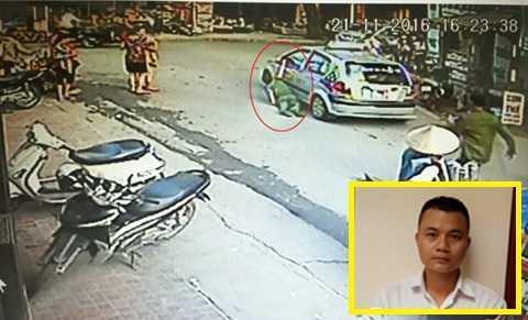 Bat tai xe taxi keo le cong an o vien Nhi Trung uong hinh anh 1