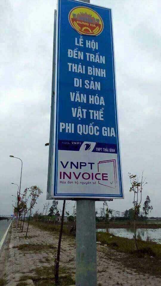 Thai Binh khang dinh khong co bien quang cao den Tran 'phi quoc gia' hinh anh 1