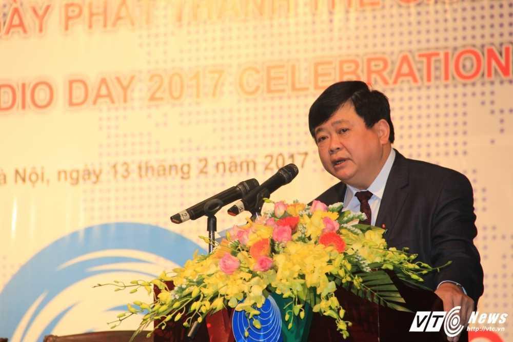 Tong Giam doc VOV Nguyen The Ky: 'Phat thanh van luon la loai hinh truyen thong tien loi, dai chung' hinh anh 1