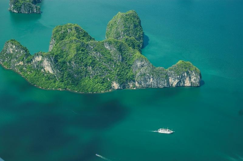 Anh: Boi canh 'Kong: Skull Island' dep ngo ngang khi nhin tu tren cao hinh anh 2