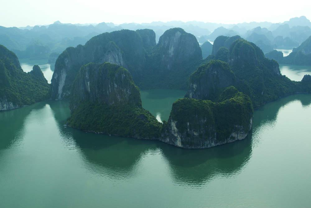 Anh: Boi canh 'Kong: Skull Island' dep ngo ngang khi nhin tu tren cao hinh anh 3