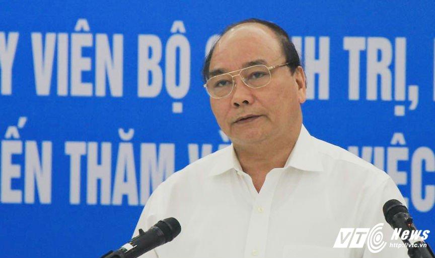 TOAN CANH: Hoi nghi Thu tuong doi thoai voi cong dong doanh nghiep 2017 hinh anh 17
